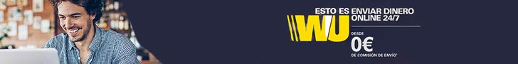 Western Union - Envia dinero a Perú