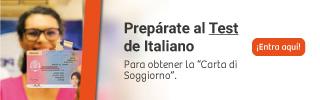 Aprueba el test de Italiano