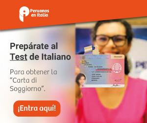 Aprueba el test de Italiano - Peruanos en Italia