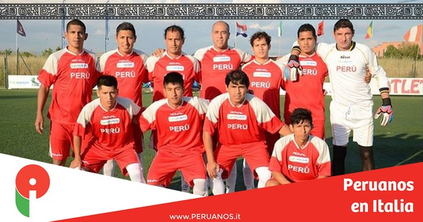 Roma, Perú en el Mundialido - Peruanos en Italia
