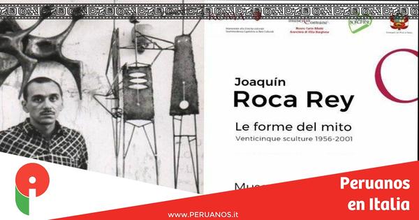 Roma, muestra rinde tributo al escultor peruano Joaquín Roca Rey - Peruanos en Italia