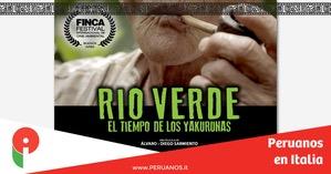 ROMA: se proyectará la cinta peruana Río Verde en Festival de Cine Latinoamericano - Peruanos en Italia
