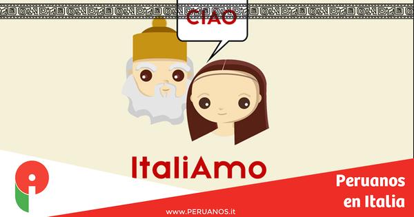 Aprende italiano gratis con la aplicación  Italiamo - Peruanos en Italia