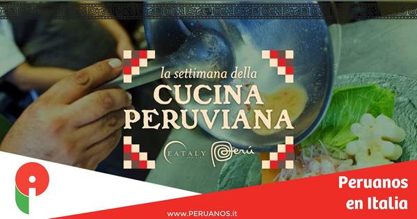 Roma, semana de la cocina peruana en Eataly - Peruanos en Italia
