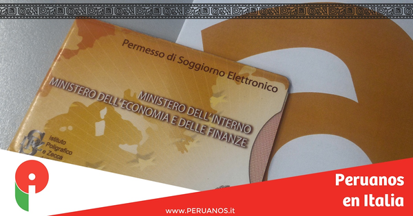 El Permiso de Residencia de Larga Duración C.E. - Peruanos en Italia