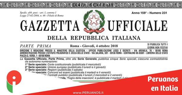 Entra en vigor el Decreto Ley  Salvini Seguridad e Inmigración  - Peruanos en Italia
