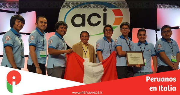 Estudiantes de UNI triunfan en mundial con la mejor mezcla de concreto - Peruanos en Italia