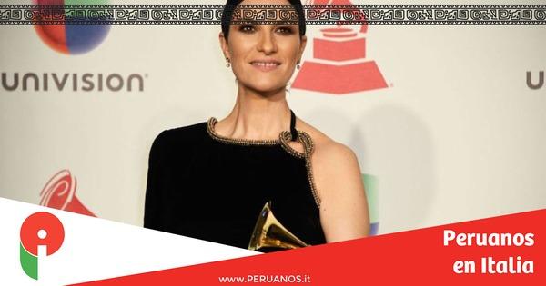 Laura Pausini ganó un Grammy Latino en la categoría Mejor Álbum Vocal Pop Tradicional - Peruanos en Italia