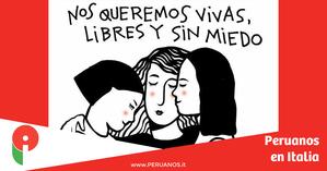 Nuestros seguidores le dicen NO a la Violencia Hacia la Mujer - Peruanos en Italia