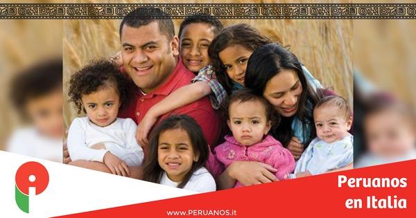 El gobierno excluyó a los inmigrantes de las ventajas sociales para familias numerosas. - Peruanos en Italia
