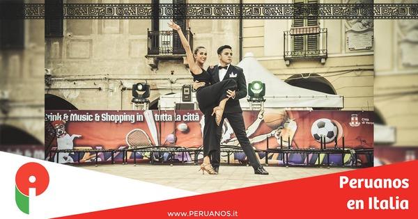 Roma,  joven peruano de Turín participará a etapa final del casting di Ballando con le Stelle  - Peruanos en Italia
