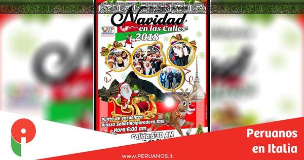Turín, Navidad en las Calles 2018 este domingo 16 de diciembre - Peruanos en Italia