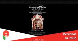 Concierto de Navidad en Santa María de la Luz - Peruanos en Italia