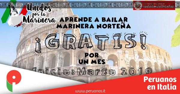 ¡Aprende a bailar Marinera gratis! - Peruanos en Italia
