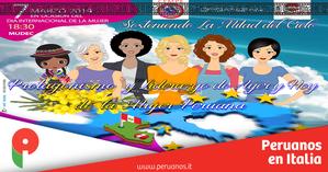 Día de la Mujer en Milán: Sosteniendo la otra mitad del cielo - Peruanos en Italia